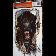 Goth Halloween Horror Prop-WEREWOLF-Floor Wall Grabber Monster Window De... - $4.92