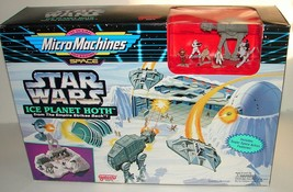 Star Wars Micro Machines Empire Strikes Back Ice Planet Hoth New Sealed - $112.20