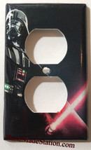 Star Wars Darth Vader Light Switch Power Outlet Wall Cover Plate Home Decor image 2