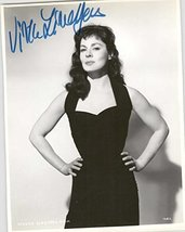 Viveca Lindfors (d. 1995) Signed Autographed Glossy 8x10 Photo - COA Mat... - $79.19