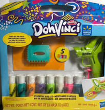 New Play-Doh DohVinci Kids Essential Art Set Hasbro Pops Off The Page - $21.76