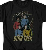 Star Trek Animated T-shirt Retro Original Crew cast Sci-Fi graphic tee CBS398 image 3