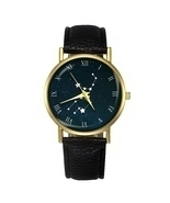 Virgo Constellation Watch Zodiac Sign Star Leather Women's Men's Watch G... - $10.00