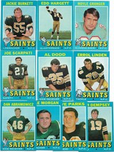 1971 Topps New Orleans Saints Team Set - $6.45