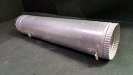 """Samsung DV338AEB Dryer Exhaust Duct Vent Tube Pipe, Metal, 4"""" x 19"""" - $7.00"""