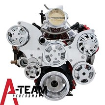 A-Team Performance LS LS1 LS2 LS6 FRONT DRIVE SERPENTINE PULLEY KIT GM CHEVROLET