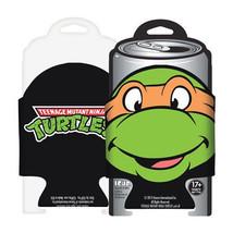 Teenage Mutant Ninja Turtles Michelangelo Character Huggie Drink Can Coo... - $6.89