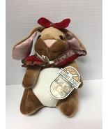 Velveteen Rabbit Ears Toys R Us 1985 Plush Stuffed Animal Vintage With Tags - $31.49