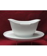 ROSENTHAL China - HELENA Pattern (all white) - GRAVY BOAT - $39.95