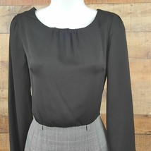 Forever 21 Essentials Dress Women's Size S Black Gray DB13 image 2