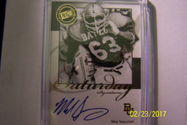 Mike Singletary 2008 Press Pass Saturday Signatures Autographed Card - $30.00