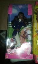 BLACK HORSE RIDING BARBIE - $20.33