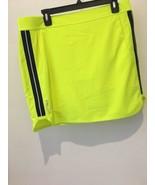 Ralph Lauren RLX Golf Women's Solid Skirt/Skort bright Yellow Size XL NWT - $32.45