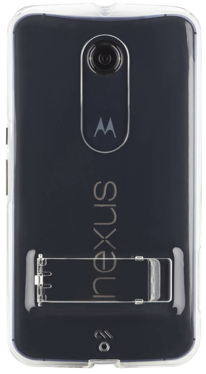 Clear Tough Naked Motorola Nexus 6 Case by Case-Mate