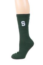 Michigan State University Licensed Green Thermal Socks - $17.95