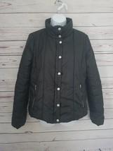 Guess Women's Black Winter Black Puffer warm Jacket Coat - $28.04