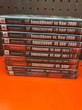 Smack Down Vs Raw Game Lot Ps2 - $98.99