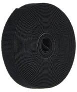 """Monoprice 121887 3 Pack Hook & Loop Fastening Tape 5 Yd/Roll, 0.75"""", Bla... - $11.88"""