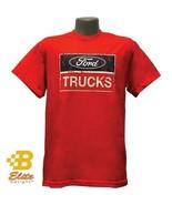 Ford Trucks Distressed Logo T-Shirt - Red - $24.70+
