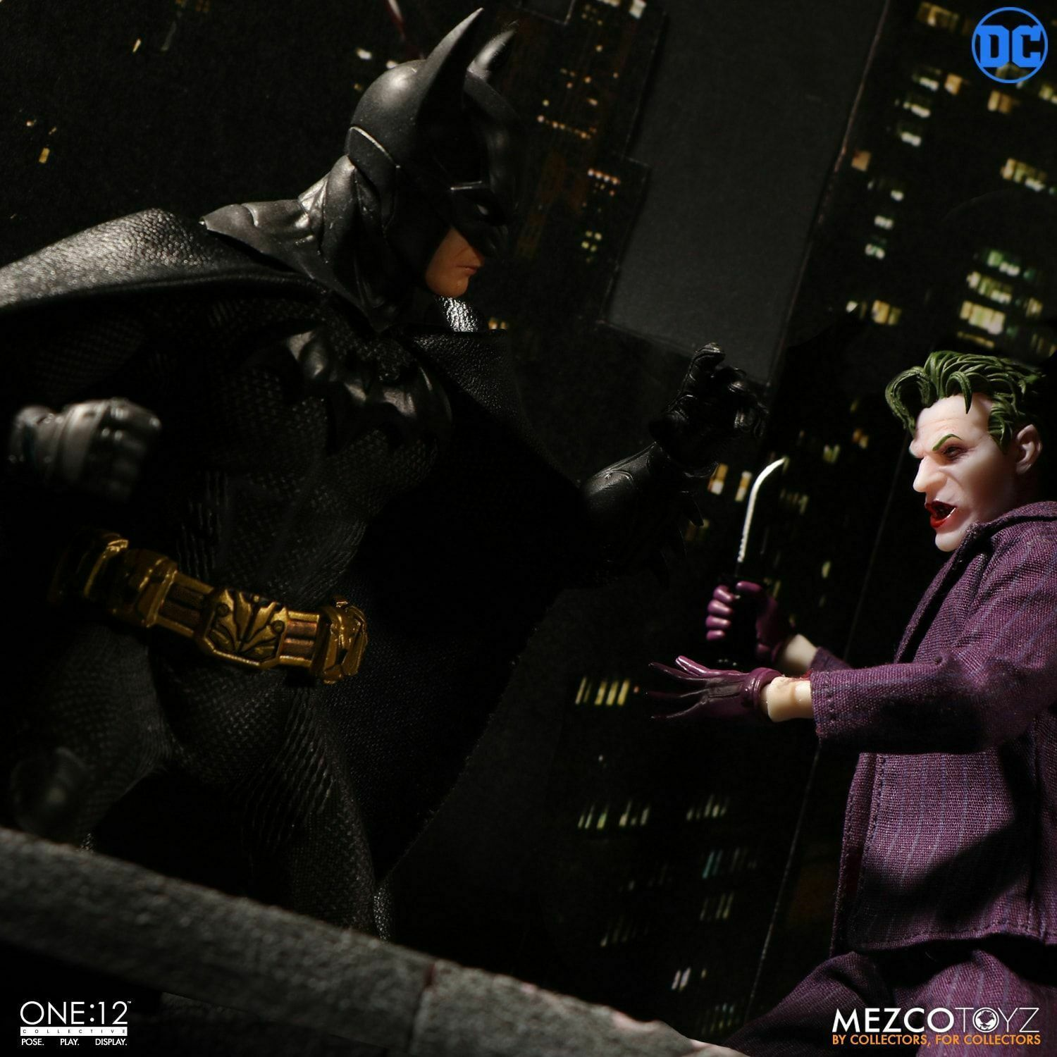 "Mezco Toyz Dc Comics One: 12 Batman Sovereign Knight 6 "" Figurine WC76960"