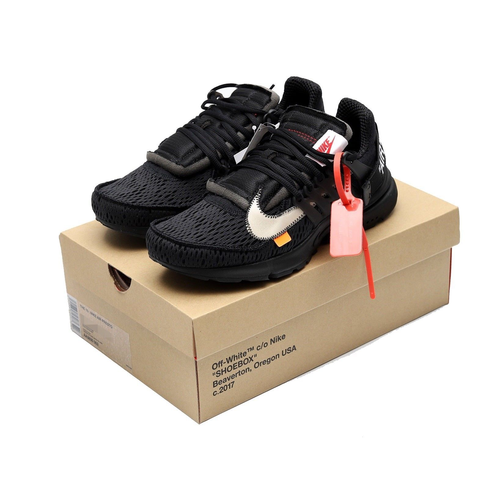 7558346740c Nike x Off White Presto The 10 Black and 50 similar items