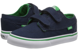 Vans Brigata V Size US 4 M Infant Toddler Shoes Pop Blue Kelly Green VN00018VHW4
