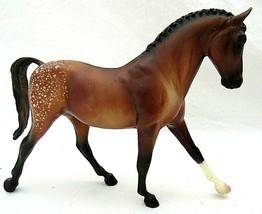 Breyer Horse Classic Keen Buckskin Spotted Appaloosa Sport Horse #651 - $35.63