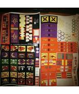1992 Battle Masters Board Game Sticker Sheets - $9.49
