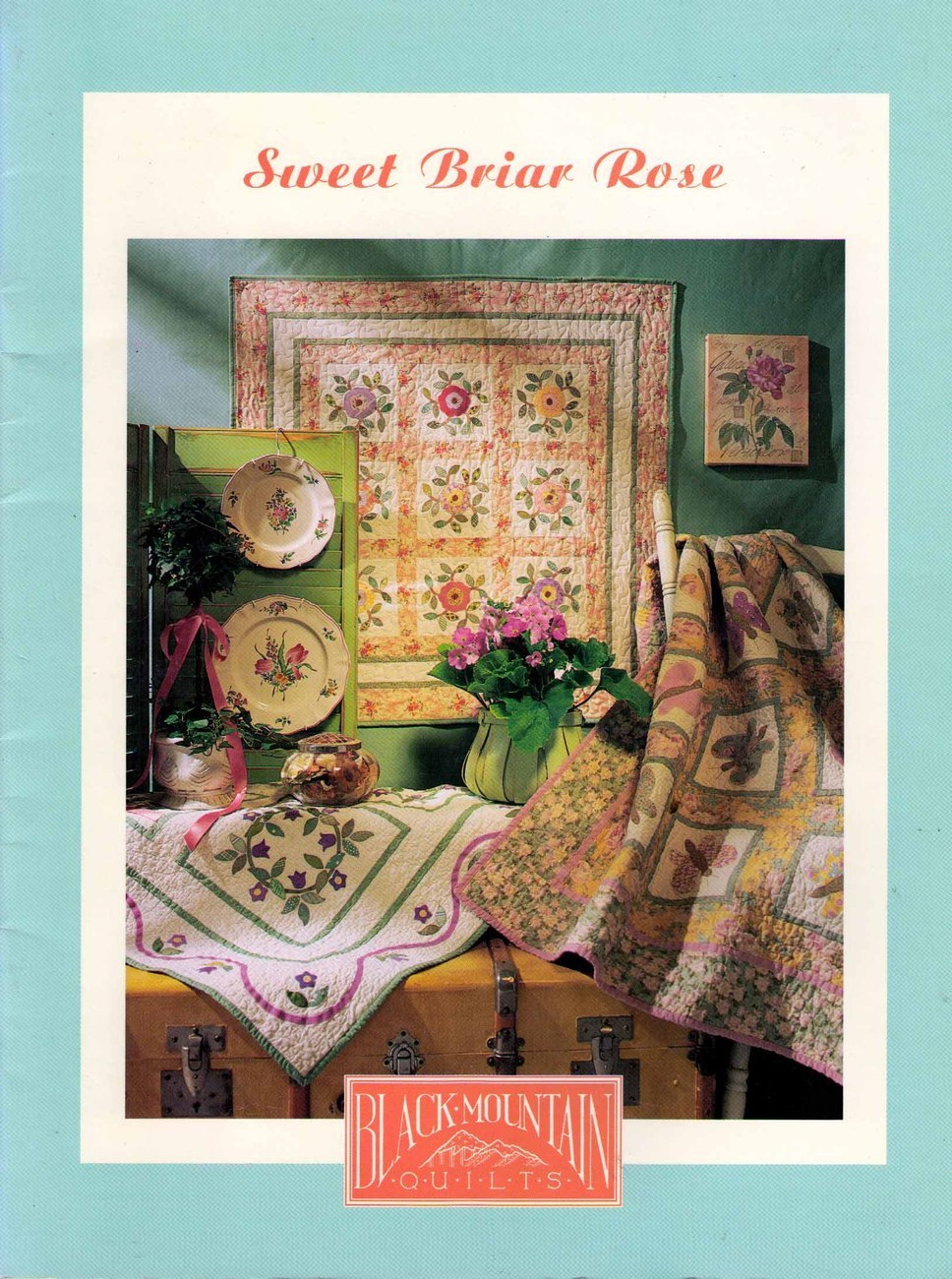 Sweet Briar Rose Black Mountain Quilts 1999 SC Book