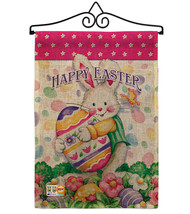 Easter Treats Burlap - Impressions Decorative Metal Wall Hanger Garden F... - $33.97