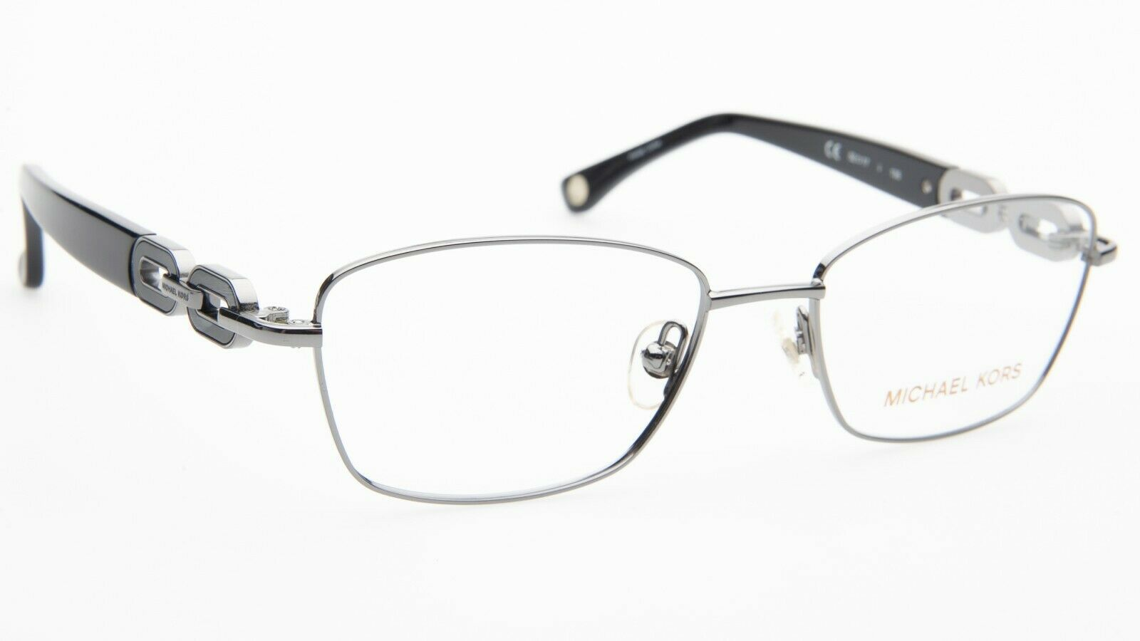 "NEW MICHAEL KORS MK363 038 LIGHT GUNMETAL EYEGLASSES FRAME 52-17-135 B34 ""READ"""