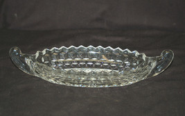 Vintage Whitehall ~ Clear by Colony Large Boat Serving Dish Stacked Cube... - $19.79