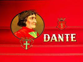 Italian Poet! Dante Embossed Inner Cigar Label,... - $9.99