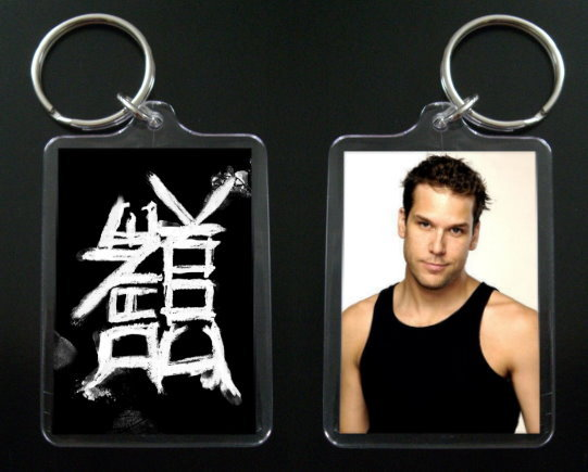 DANE COOK keychain / keyring Isolated Incident 1