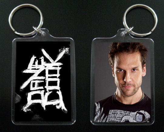 DANE COOK keychain / keyring Isolated Incident 3