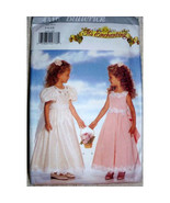 Vintage Butterick 4310, Flower Girls, Wedding Party Dress, Special Occas... - $11.00