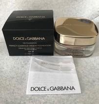 Dolce  Gabbana The FOUNDATION Perfect Luminous Creamy Foundation SPF15 C... - $49.99