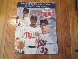 2007 Minnesota MN Twins Spring training Souvenir Program Mauer Mornean S... - $6.99