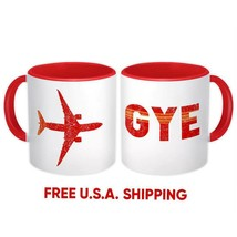 Ecuador Airport Guayaquil GYE : Mug Gift Travel Airline Pilot Aviation - $13.37+