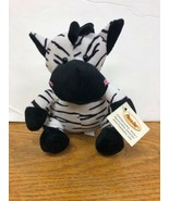 """Puzzled Zebra Plush Stuffed Animal 6"""" High New with Tags Puzzled A13 - $9.95"""