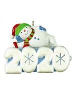 Hallmark  A Snowy 2020 - Magic Light - Miniature Keepsake Ornament 2020 - $14.84