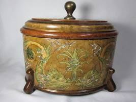 Hilda Flack Decorative Container with Dragon Scene - $197.99