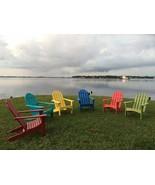 Adirondack Chair Classic Outdoor Patio Furniture Garden Deck Porch Poly ... - $308.64