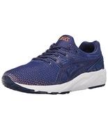 ASICS Men's Gel-Kayano Trainer Evo Fashion Sneaker, Blue Print/Orange, 1... - $99.99