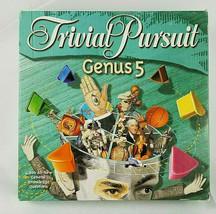 Trivial Pursuit Genus V 5 Edition Board Game Great Shape Parker Brothers... - $14.99