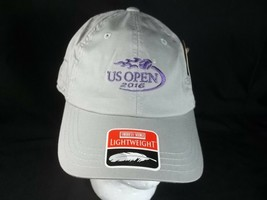 US Open 2016 Cap Hat Gray Strapback American Needle - $8.34