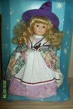 """Collector's Fairytale Collection Porcelain Doll Mother Goose 14"""" - $12.95"""