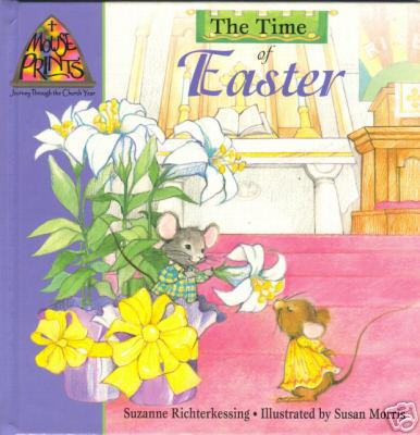 The time of easter mouse prints