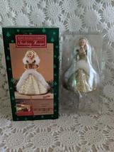 Hallmark Happy Holidays Barbie Stocking Hanger 1995 - $14.54