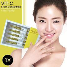 3 Boxes X Vc Fresh Concentrate Best Vitamin C Bright & Whitening Face Care Serum - $66.00